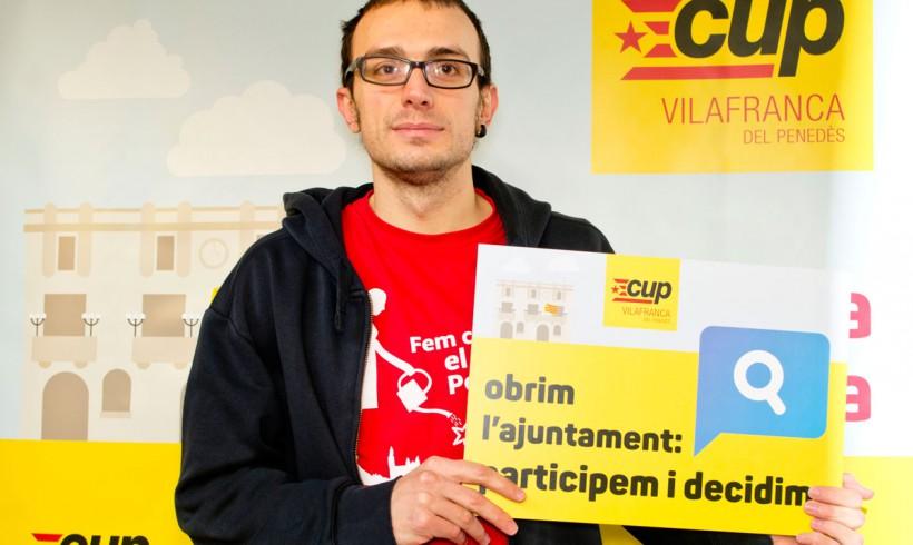 La CUP de Vilafranca presenta les seves propostes per als pressupostos municipals del 2016