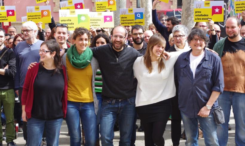 La CUP de Vilafranca presenta les seves accions de govern amb proposta de calendari d'execució