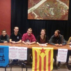 """Presentació de la Coordinadora de l'Esquerra Independentista i campanya """"Ens volen emmordassades"""""""