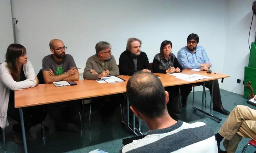 CUP, ERC i VEC demanen al govern municipal un nou procés de participació pel cobriment de la via