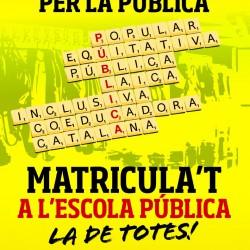 La CUP de Vilafranca porta al ple municipal una moció en defensa de l'escola pública