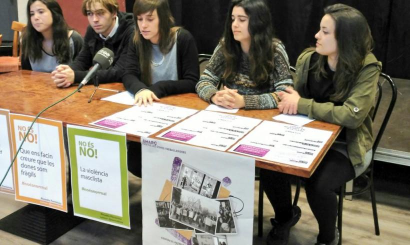 La Coordinadora Feminista del Penedès presenta els actes del 8 de març