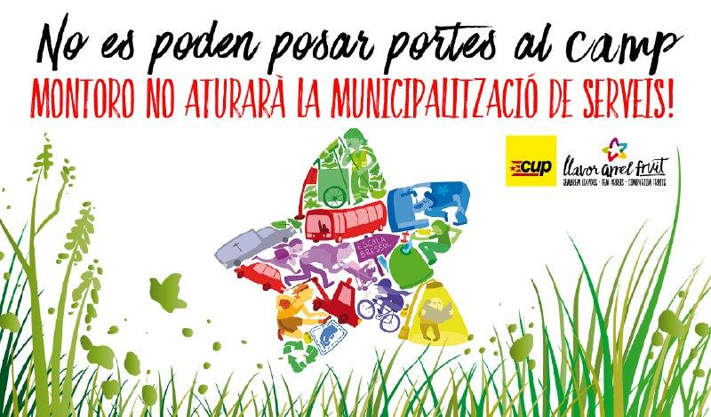 NOTICIA | La CUP crida a blindar la municipalització de serveis de l'Ajuntament de Vilafranca davant l'ofensiva de Montoro