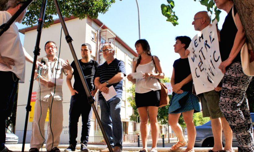 VeC, ERC i CUP, acusen el govern PDCAT-PSC d'incohèrencia i manca de projecte per al barri de l'Espirall