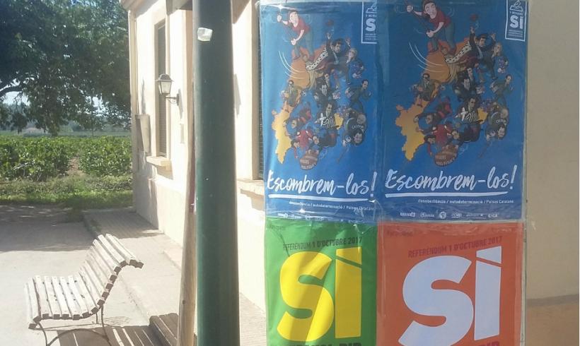 NOTÍCIA | El Penedès, a cop d'escombra, per l'autodeterminació dels Països Catalans