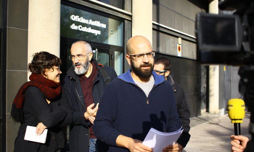 NOTÍCIA | La CUP de Vilafranca posa en coneixement de l'Oficina Antifrau indicis d'irregularitats del govern en la gestió de la promoció dels allotjaments del carrer Migdia del municipi