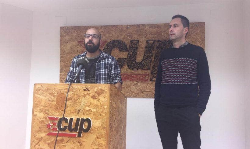 La CUP denuncia que el pla del Carrer comerç està dissenyat per a afavorir a grans propietaris amb interessos al barri del Molí d'en Rovira