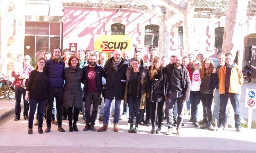 La CUP de Vilafranca engega motors presentant l'equip que impulsarà la candidatura de la pròxima legislatura