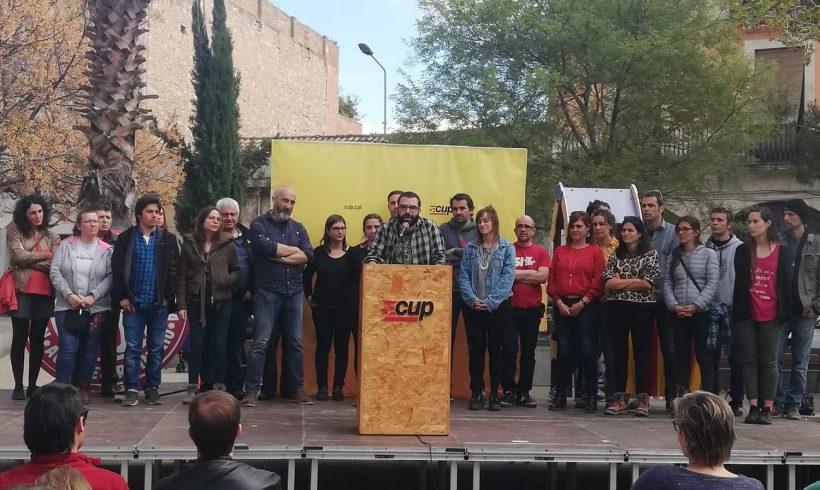 NOTÍCIA | La CUP de Vilafranca presenta la llista i el programa electoral amb què concorrerà les eleccions