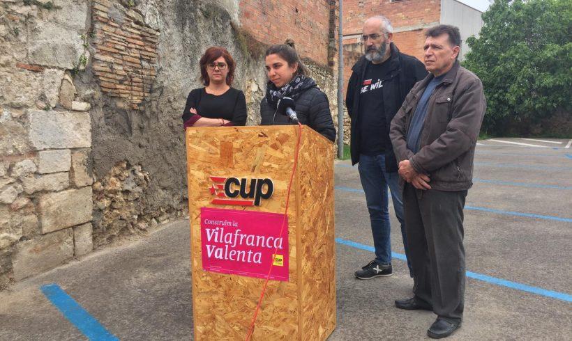 NOTÍCIA   La CUP de Vilafranca proposa la municipalització de serveis i la participació ciutadana com a eixos centrals de la governabilitat