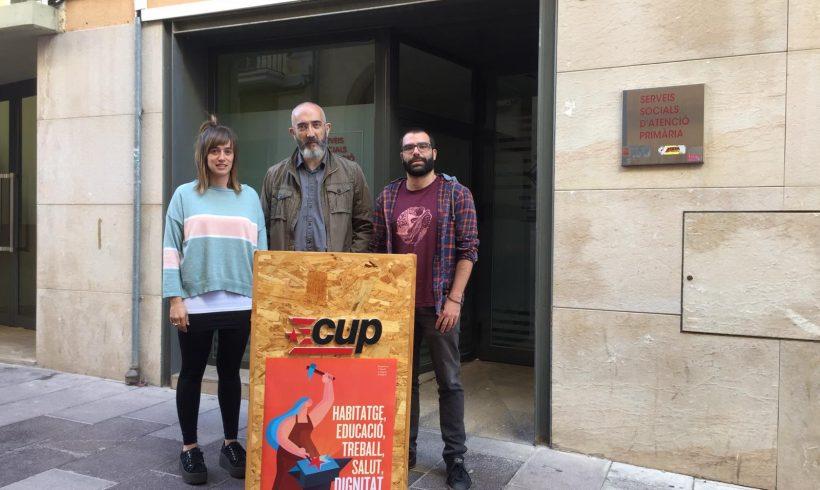 NOTÍCIA   La CUP de Vilafranca prioritzarà les polítiques socials i pels drets de les persones en el cas de governar