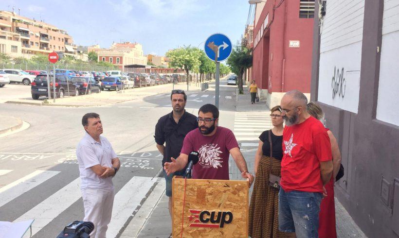 NOTÍCIA   La CUP de Vilafranca demana la retirada definitiva de l'actual Pla del C/Comerç i l'elaboració  d'un nou projecte que integri tot el barri del Molí d'en Rovira