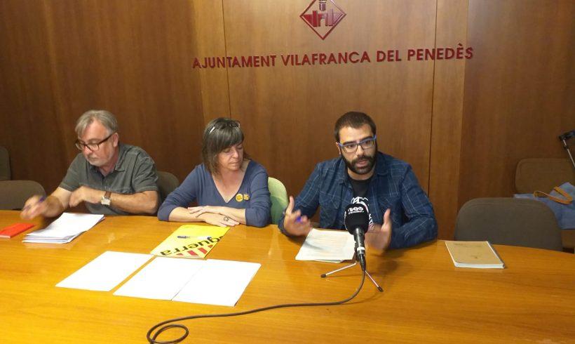 NOTÍCIA | ERC, CUP i VEC demanen la convocatòria d'un ple extraordinari per debatre sobre la modificació del POUM del carrer del Comerç després que la Generalitat n'hagi suspès l'aprovació definitiva