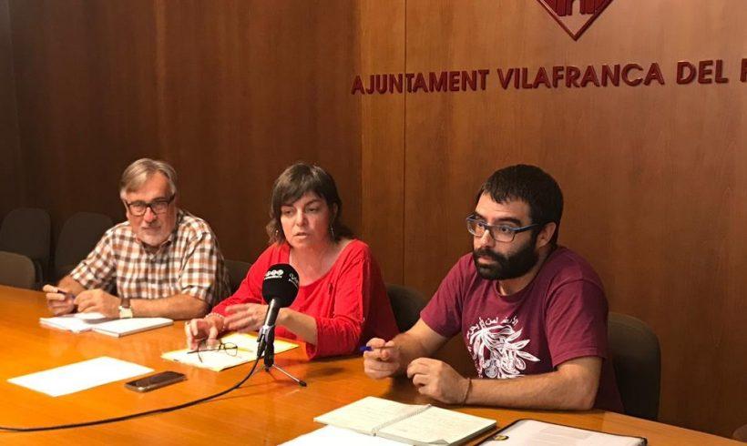 NOTÍCIA | Els grups de la CUP, ERC i VeC denuncien la retallada d'ajuts a l'escolarització realitzada pel govern de Vilafranca