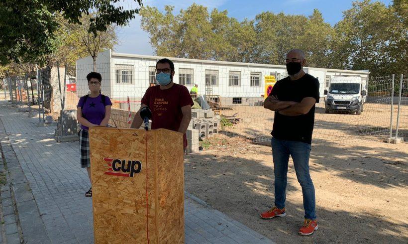 NOTÍCIA | La CUP de Vilafranca denuncia que el nou institut de Vilafranca comenci el curs a l'escola Pau Boada