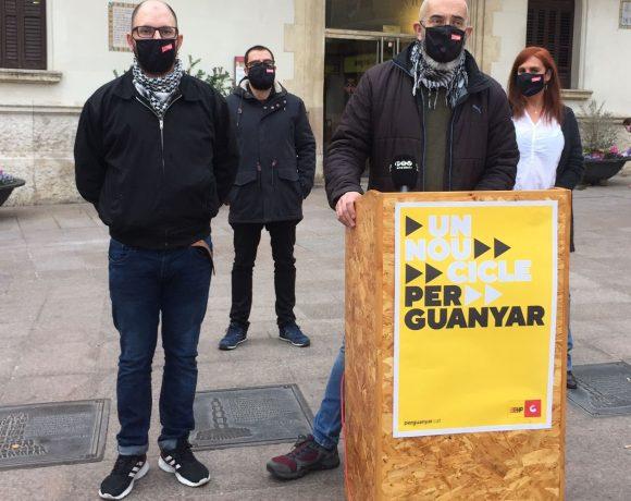 NOTÍCIA | Drets socials, lluita antirepressiva i autodeterminació, eixos del nou cicle que proposa la CUP – Un Nou Cicle Per Guanyar